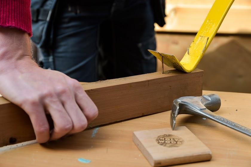Récup de bois et menuiserie solidaire