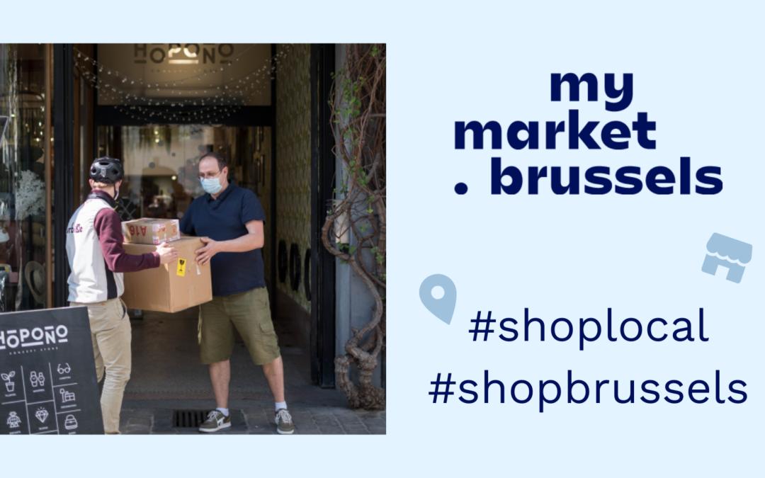 Mymarket.brussels: Soutenir l'économie locale et valoriser les commerces de quartier à Bruxelles