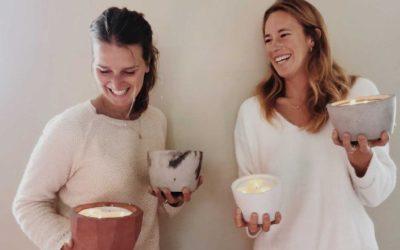 Terrae : Une bougie artisanale et éco-responsable
